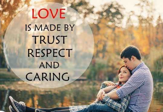 💞  इश्क़-मोहब्बत - LOVE < 3 IS MADE BY TRUST RESPECT AND CARING - ShareChat