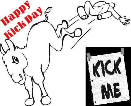 👢किक डे - Happy Kick Daya KICK ME - ShareChat