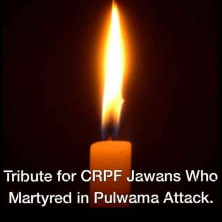 📰  खबरें - Tribute for CRPF Jawans Who Martyred in Pulwama Attack . - ShareChat