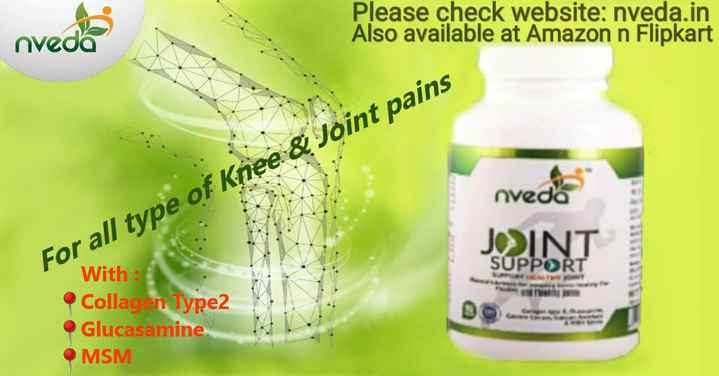 खरीदें और बेचें - Please check website : nveda . in Also available at Amazon n Flipkart nvede nvedes For all type of Knee & Joint pains JOINT SUPPORT With Collag n Type2 Glucasamine . MSM - ShareChat