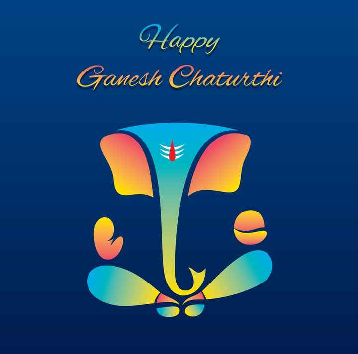 🌺गणपती - Happy Ganesh Chaturthi - ShareChat