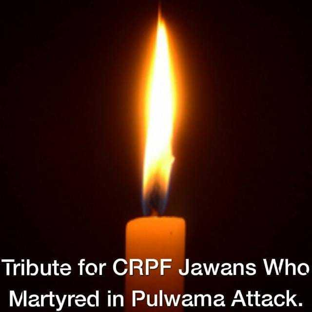 पुलवामा में मुठभेड़ - Tribute for CRPF Jawans Who Martyred in Pulwama Attack . - ShareChat