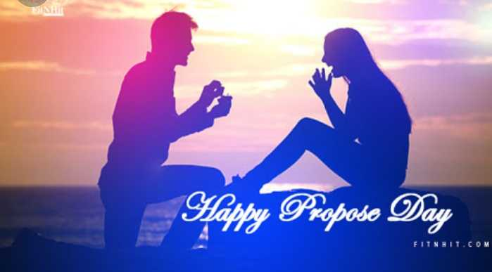 💑प्रपोज डे - FASHI Happy Propose Day FITNHIL . COM - ShareChat