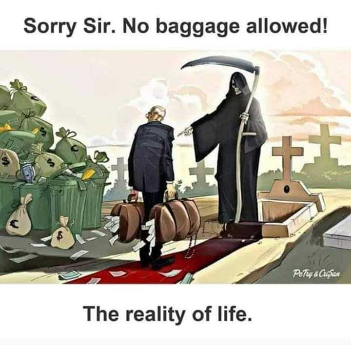 भक्ति - Sorry Sir . No baggage allowed ! Petur & Cluşan The reality of life . - ShareChat