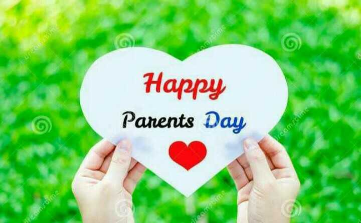 🙏मातृ-पितृ पूजन दिवस - ti Happy Parents Day Dreamstime mi - ShareChat