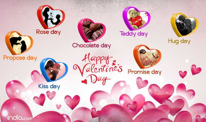 🆒व्हॅलेन्टाईन्स डे Time Table - I Love You Rose day Teddy day Hug day Chocolate day Propose day Valentines Promise day Happy : - Day Kiss day india . com - ShareChat