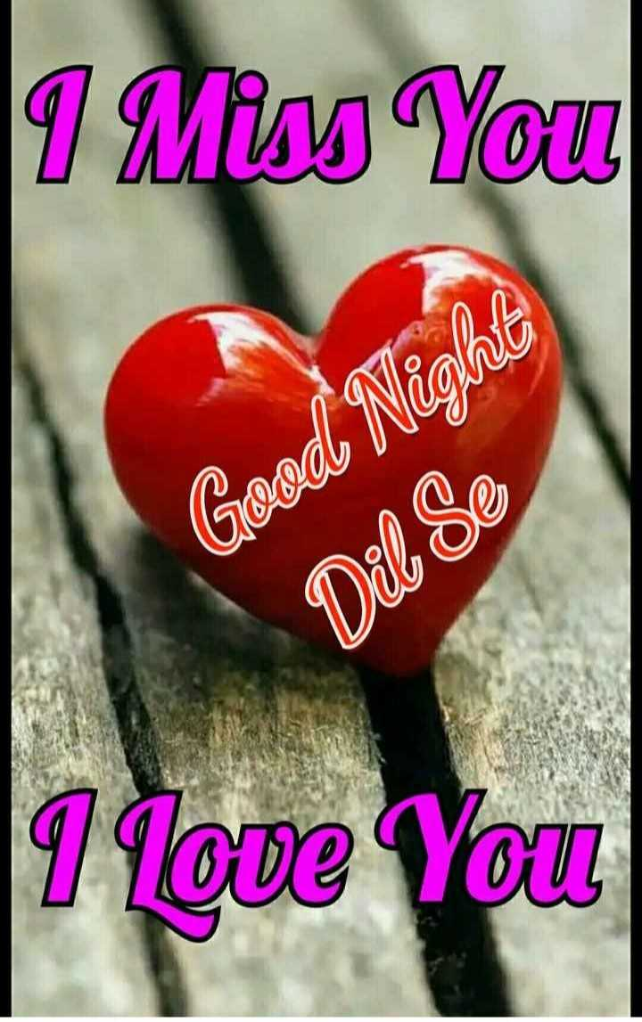 🌙शुभरात्रि - 1 Mis You Good Night Dil Se I Love You - ShareChat