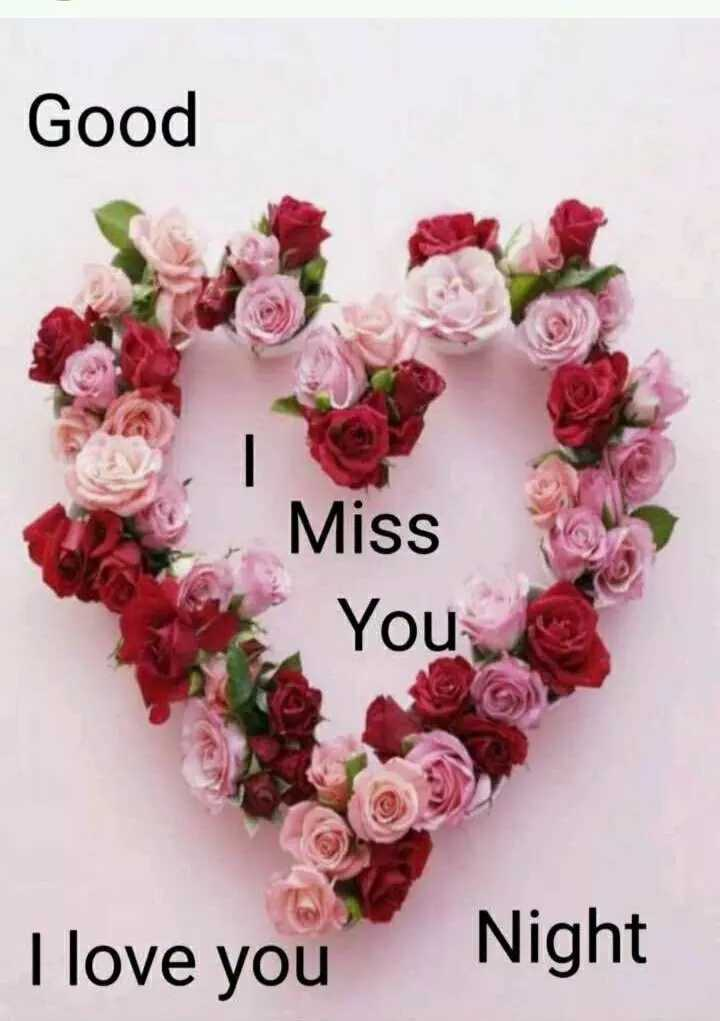 🌙शुभरात्रि - Good Miss You I love you Night - ShareChat