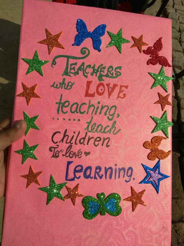 💭 ਮੇਰੇ ਵਿਚਾਰ - TEACHERS who LOVE teaching , teach Children Ter love Learning - ShareChat