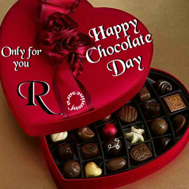 🍫 હેપી ચોકલેટ ડે 🍫 - Only for you Happy Chocolate Day Ro - ShareChat