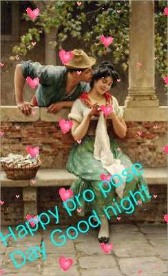 ପ୍ରୋପୋଜ ଡେ - Happy pro pus Dan Good night . - ShareChat