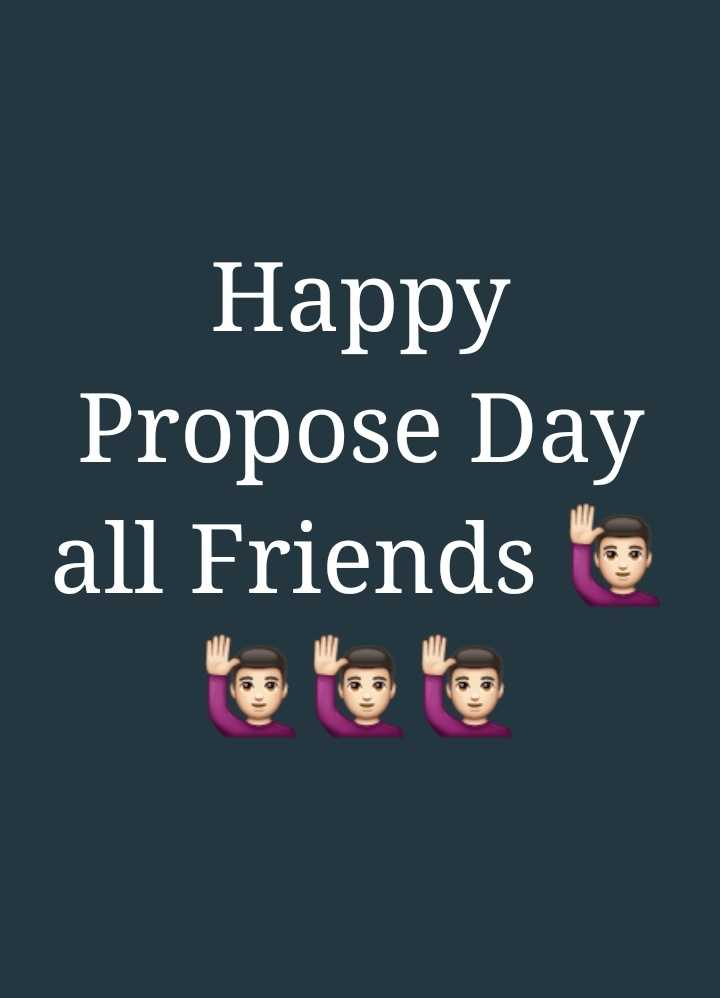 ପ୍ରୋପୋଜ ଡେ - Happy Propose Day all Friends - ShareChat