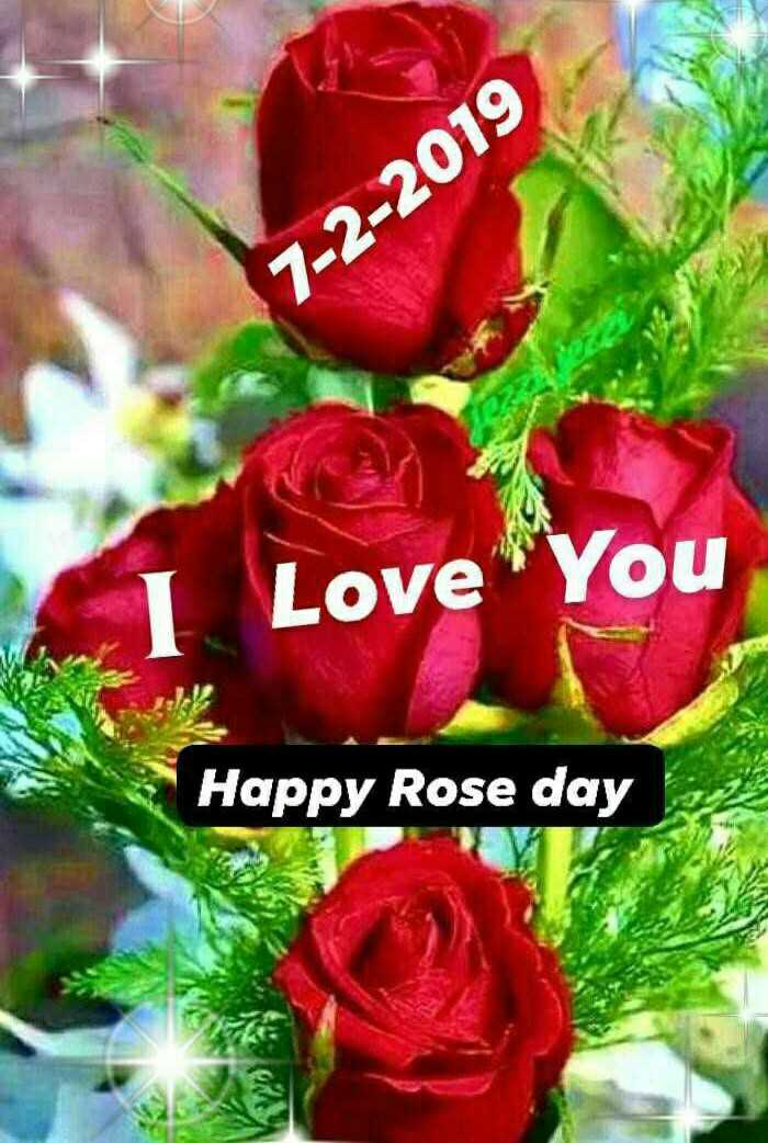 ରୋଜ ଡେ - 7 - 2 - 2019 Love You Happy Rose day - ShareChat