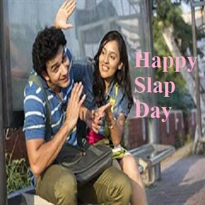 ସ୍ଲାପ ଡେ - Happy Slap Day - ShareChat