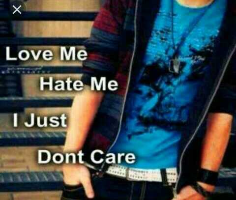 👫 நம் வாழ்கை - х Love Me Hate Me I Just Dont Care - ShareChat