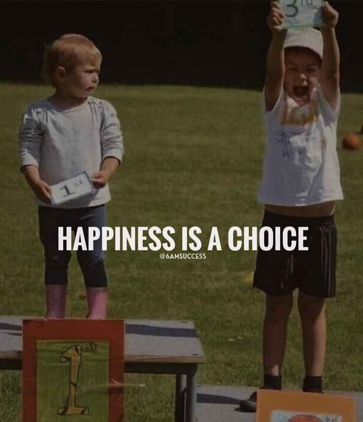 🤔💭నా ఆలోచనలు - HAPPINESS IS A CHOICE @ 6AMSUCCESS - ShareChat