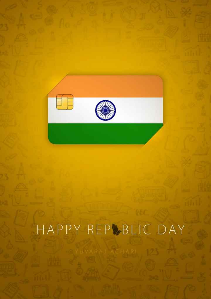 ಗಣರಾಜ್ಯೋತ್ಸವ - HAPPY REP BLIC DAY CYUVARAJ ACHARI YUVARAJ ACHARI 123 - ShareChat