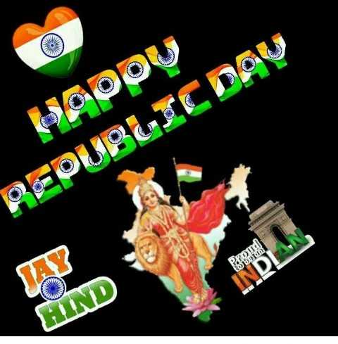 ಗಣರಾಜ್ಯೋತ್ಸವ - PODOU REPUBLIC DAU INDIAN HIND - ShareChat