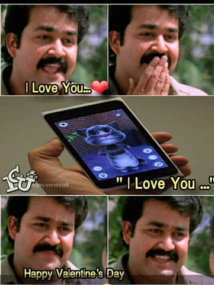 ഞാൻ സിംഗിളാ - I Love You . . . GO Vecentral I Love You . . . Happy Valentine ' s Day - ShareChat