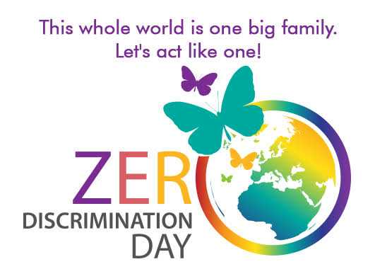 ⚪️शून्य भेदभाव दिवस - This whole world is one big family . Let ' s act like one ! ZER DISCRIMINATION DAY - ShareChat