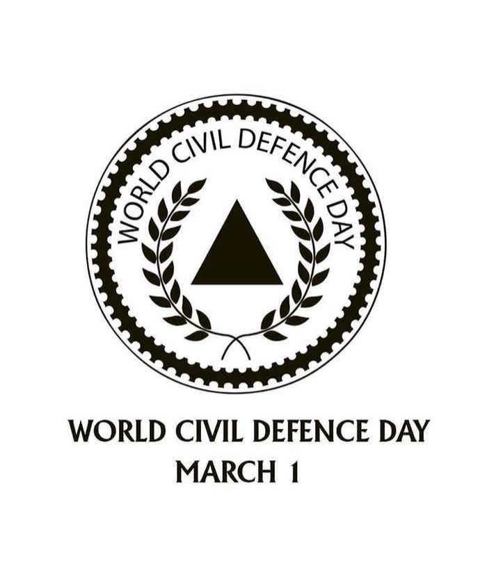⚪️शून्य भेदभाव दिवस - WORD NCE DAT an WORLD CIVIL DEFENCE DAY MARCH 1 - ShareChat