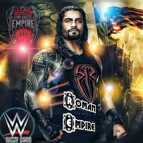 🏋️‍♂️ ரோமன் ரெஜின்ஸ் - 5 FROM ASHES TO VEMPIRE ROMAN LIMPIRE RICKY Cena - ShareChat