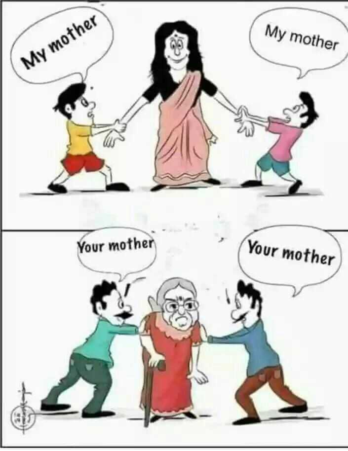 Status I Love You Maa - My mother Your La - ShareChat