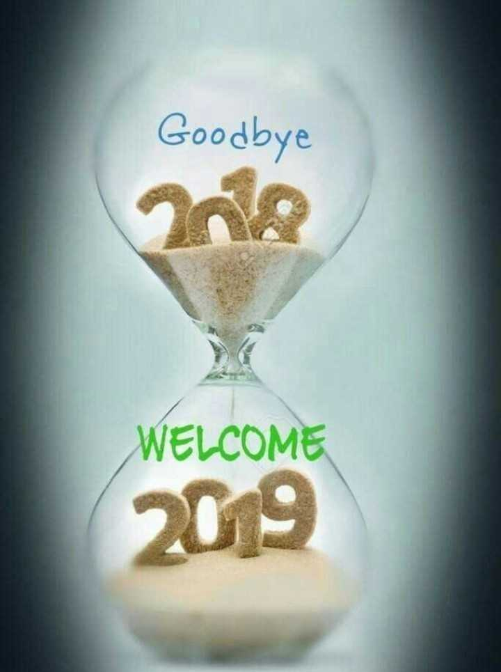 🎉 Happy New Year 2019 - Goodbye WELCOME 209 - ShareChat