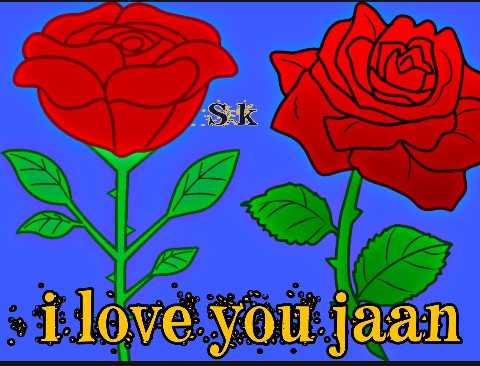 🌸i love you 🌸 - i love you jaan - ShareChat