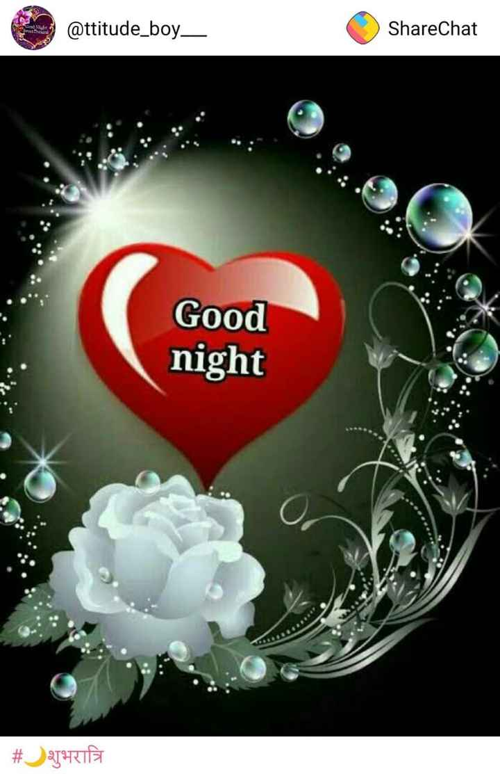 good_night - @ ttitude _ boy _ ShareChat Good night # hell - ShareChat