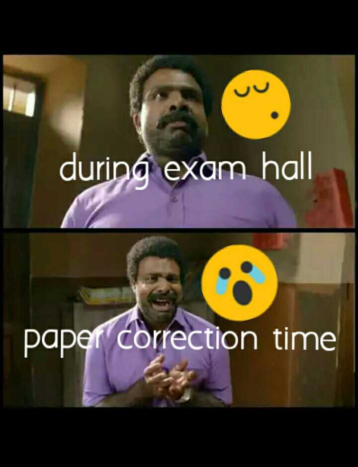 some times 🌹🌹🌹 - during exam hall paper correction time - ShareChat