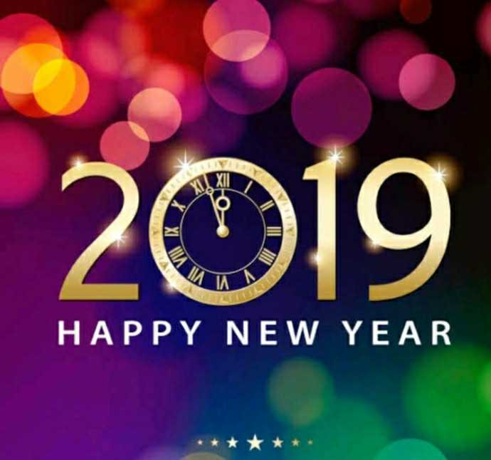 Moments 2018 - 2019 HAPPY NEW YEAR * * * * * - ShareChat