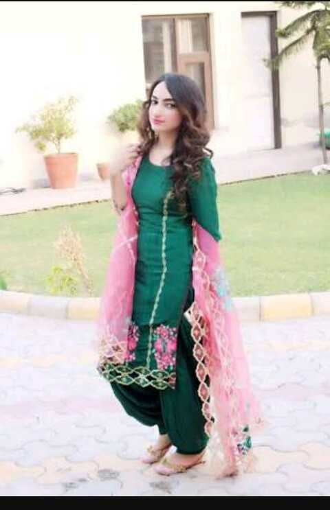 beautiful punjabi suit - ShareChat