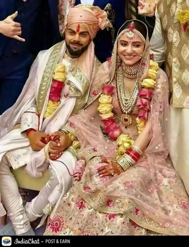 🎊Virushka 1st Anniversary - IndiaChat - POST & EARN - ShareChat