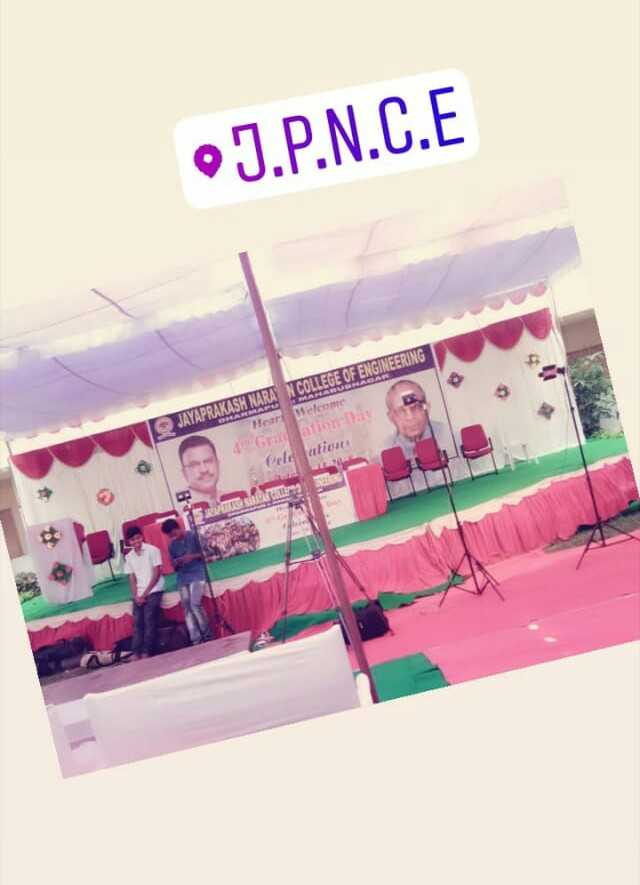 today special - J . P . N . C . E COLLEGE OF ENGINEERING JAYAPRAKASH NARA Heart Welcome Cele ations - ShareChat