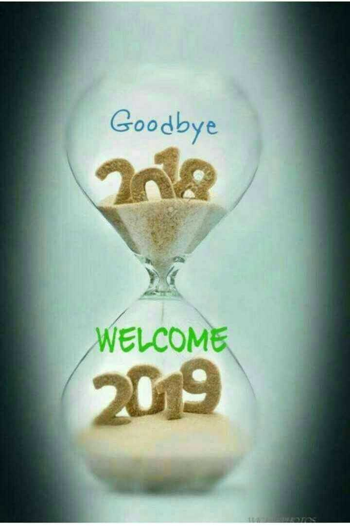 🎉 Happy New Year 2019 - Goodbye WELCOME - ShareChat
