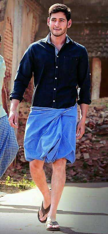 Image result for south indian hero in lungi