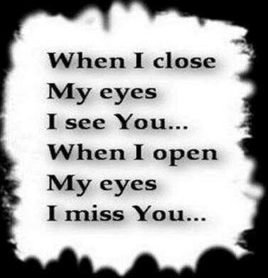 love - When I close My eyes see You... open miss - ShareChat