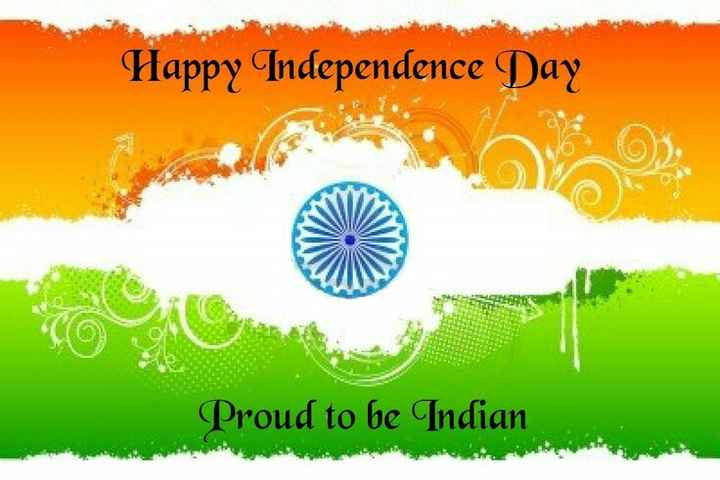 independence Day - Happy Independence Day Proud to be Indian - ShareChat
