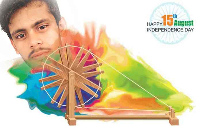 स्पंदन 3 - th HAPPYRugust NDEPENDENCE DAY - ShareChat