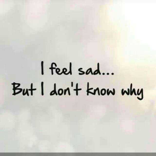 sad .. - l feel sad But I don't know why - ShareChat