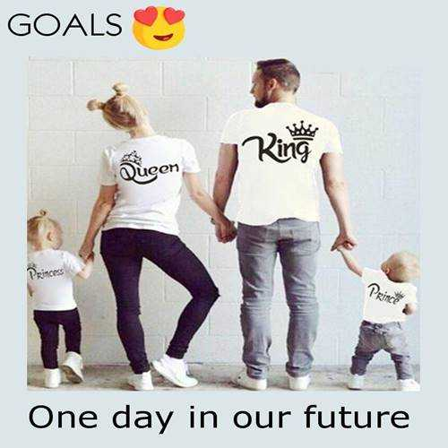 love photo - GOALS Rinose Qucen Prince One day in our future - ShareChat