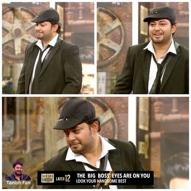 bigg boss2 - HARIAN LASER 12 THE BIG BOSS ' EYES ARE ON YOU LOOK YOUR HANDSOME BEST Tanish Fan - ShareChat