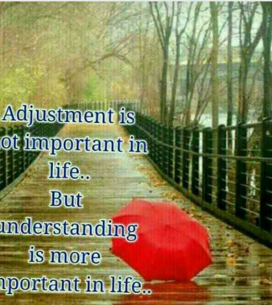 nam duniya nam style - Adjustment is ot important in life . . But nderstanding is more aportant in life . . - ShareChat
