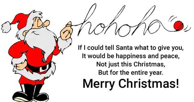 🎄Merry Christmas! - If I could tell Santa what to give you , It would be happiness and peace , Not just this Christmas , But for the entire year . Merry Christmas ! - ShareChat