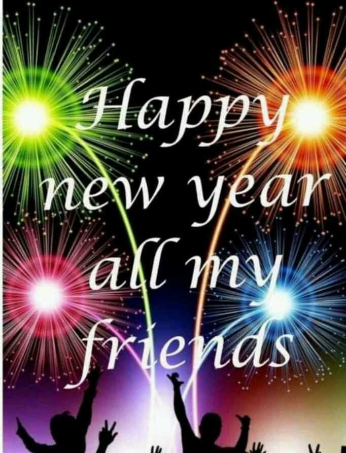new year - Happy new year aļl my friends - ShareChat