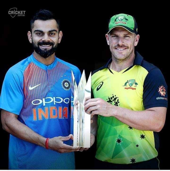 Ind vs Aus - CRICKET com a alintoere oppo INDIA - ShareChat