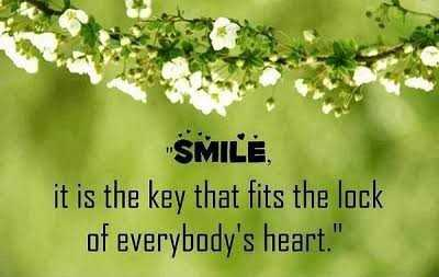 g0od m0rn!ng.. - SMILE , it is the key that fits the lock of everybody ' s heart . - ShareChat