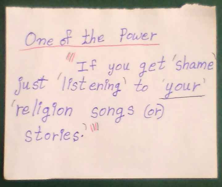 18+ - One of the Power If you get shame just listening to your religion songs on stories , - ShareChat