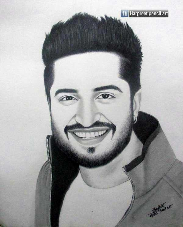 🎨 drawing - fb Harpreet pencil art MT is - ShareChat